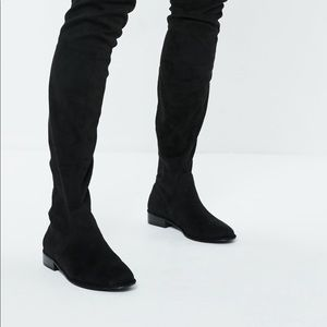ASOS Suede Knee High Boots